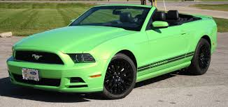 Mustang Black And Green 2015 Ford Mustang Gt 19
