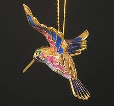 hummingbird ornaments rainforest islands ferry
