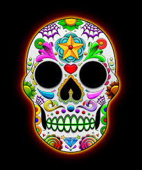 halloween background skulls sugar skull art wallpaper koxnas u0027s profile picture skull