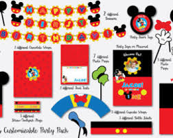 mickey mouse photo booth props minnie mouse photo booth props from nycpartyprintables on etsy studio