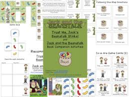 jack and the beanstalk companion packet speechymusings