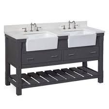 Double Bathroom Sink Cabinets Double Vanities You U0027ll Love Wayfair