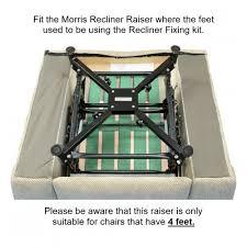 recliner u0026 riser recliner chair raiser adj height 10cm 18cm