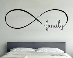 infinity wall vinyl decal sticker family room