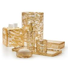 interesting upscale bathroom accessories and and luxury poly gold