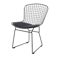 Bertoia Dining Chair Harry Bertoia Dining Chair Bertoia Side Chair Black Base Design
