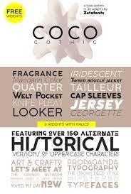 coco gothic font dafont com