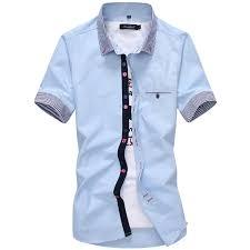 aliexpress com buy 2017 new brand mens dress shirts short sleeve