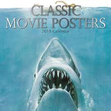 movie posters classic 2018 wall calendar calendars com