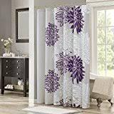 Plum Flower Curtains Amazon Com Flowers U0026 Plants Shower Curtains Shower Curtains