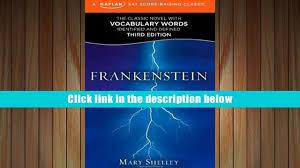 read online frankenstein a kaplan sat score raising classic