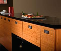 Bamboo Kitchen Cabinets In Natural Finish Kitchen Craft - Kitchen cabinets finish