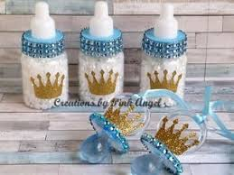 baby shower bottle favors 12 royal prince baby shower bottle favors or pacifier necklace in