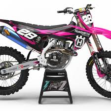 pink motocross gear husqvarna graphics archives rival ink design co custom