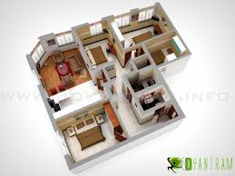 3d classic home foor plan istanbul turkey 3d floor plan