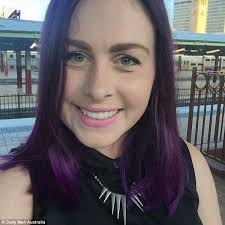 How To Wash Hair Color Out - can you copy katy perry or demi lovato u0027s purple hair daily mail