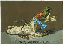 images of victorian christmas cards bizarre and disturbing victorian christmas cards