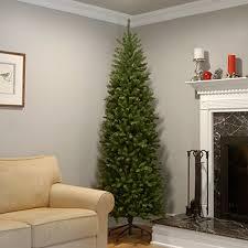 pencil christmas trees national tree 7 5 foot kingswood fir pencil tree kw7