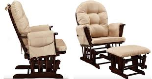 Glider Rocker With Ottoman Walmart Com Glider Rocker And Ottoman Set Only 129 Shipped
