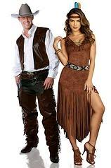 Halloween Costumes Indians Couple Costumes Cowboy Indian Costume Ideas