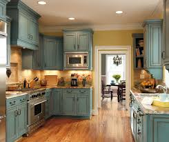Grey And Turquoise Kitchen by Turquoise Kitchen Cabinets Decora Cabinetry