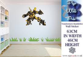 transformers bumblebee children s bedroom wall sticker bedroom transformers bumblebee children s bedroom wall sticker bedroom large
