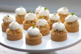 dessert canapes vancouver catering savoury chef foods ltd poached forrelle