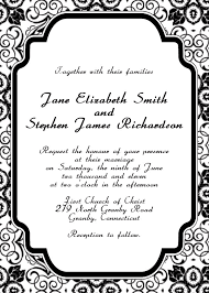 free wedding invitations online free online printable wedding invitations wblqual