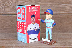 Jeff Banister April 19 2016 Texas Rangers Jeff Banister Bobblehead