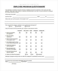 employee training survey questions 10 training survey templates