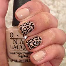 leopard nails by nora o preen me