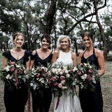 black bridesmaid dresses black bridesmaids dresses are the new trend wedded