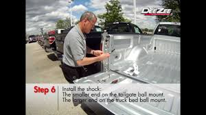 Chevy Silverado Truck Bed Extender - how to install a dee zee tailgate assist dz43200 youtube
