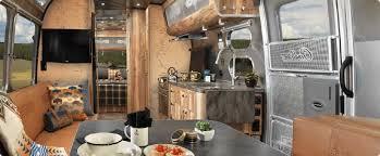 Airstream Custom Interiors Airstream And Pendleton Equals A Perfect Travel Trailer