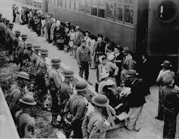 how to write a research paper on a historical person world war ii photos national archives persons of japanese ancestry arrive at the santa anita assembly center from san pedro
