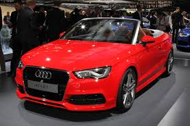 convertible audi red 2013 frankfurt motor show diary automobile magazine