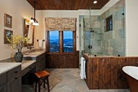 Modern Rustic Bathroom Design - 50 enchanting tips for the relaxed rustic bathroom best of