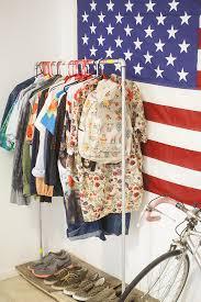 no closet solution at home with danny brito u2013 a beautiful mess