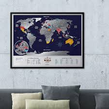 Large Framed World Map by World Travel Map Holiday World 1dea Me Touch Of Modern