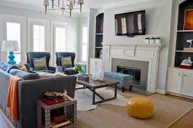 ok or sally wheat contemporary living room design with blue