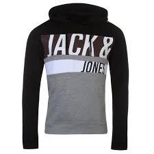 Jack And Jones Core Branded Hoodie