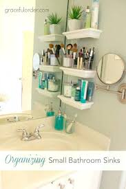 Organizing Bathroom Drawers Cool Tiny Bathroom Organization How To Organize A Small Bathroom