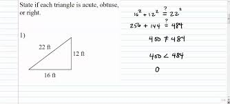 30 60 90 Triangles Worksheet Triangles Is This Triangle Acute Obtuse Or Right Based On