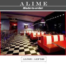 mobilier diner americain alice arf107 rétro américain 50 s style mobilier salle à manger à