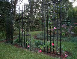 wrought iron garden trellis metal furniture hardware loversiq