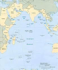 Arctic Ocean Map Map Of The Indian Ocean Whales In Paradise Australia