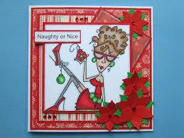 bugaboo digi stamp ruby handmade christmas card bugaboo cards
