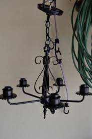 Rewiring A Chandelier by I Found A Chandelier In The Barn Stuff I Tell My Sister