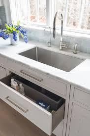 kitchen sink cabinet sponge holder sponge drawer kitchen sink transitional kitchen