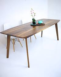 mid century expandable dining table mid century dining table conception walnut modern wood 10 tupimo com